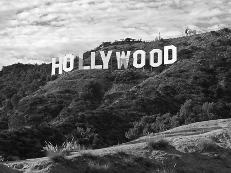 Los Angeles, California, USA - September, 29th 2010:  The famous Hollywood sign in popular Griffith Park.