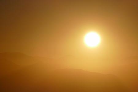 gabriel: San Gabriel Mountains National Monument sunrise near Los Angeles, California.