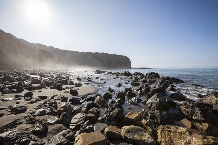 Sacred Cove at Abalone Cove Shoreline Park in Rancho Palos Verdes near Los Angeles, California. Stock Photo