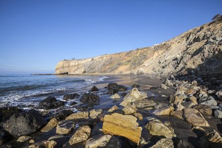 Sacred Cove at Abalone Cove Shoreline Park near Los Angeles in Rancho Palos Verdes, California.