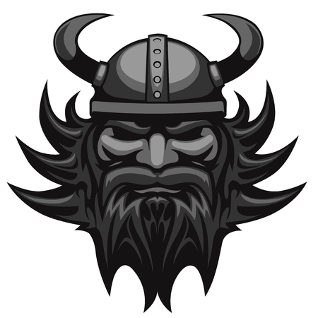 viking: viking head