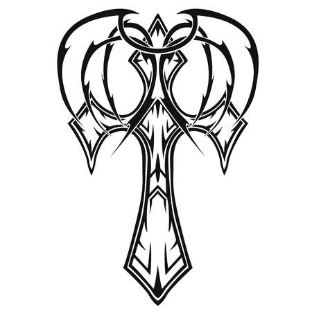 crosse: crosse (crucifix), religious design elements