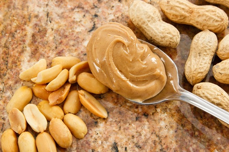 cuiller�e: A spoonful of creamy peanut butter is a healthy food and a dangerous allergen
