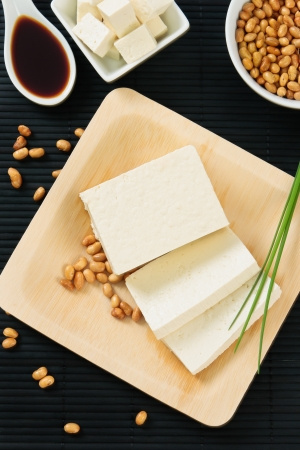 tofu: Soybeans and tofu are a good source of protein and a serious food allergen.