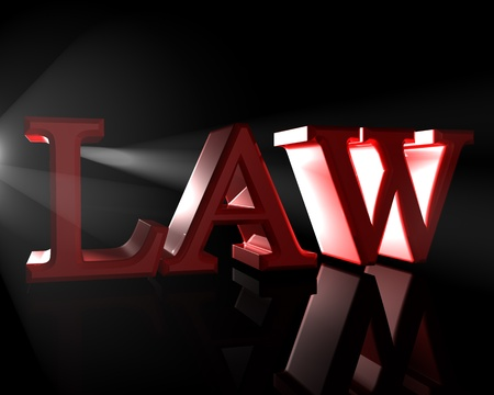 legal scales: The Law