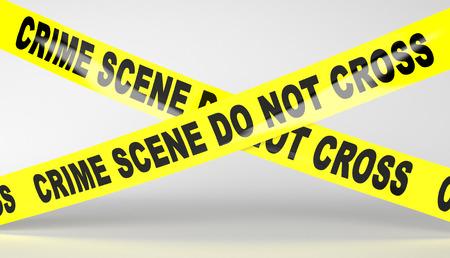 do not cross: Crime scene tape. Do not Cross.