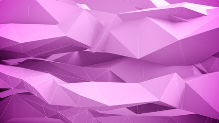 vj: Illustration of Adstract geometric shapes. Pink.