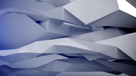 vj: Forme geometriche astratte sfondo. Colori Grigio. Archivio Fotografico