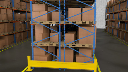 storage box: A warehouse is a commercial building for storage of goods.