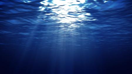 underwater light: 3D render of Abstract underwater Light backgrounds