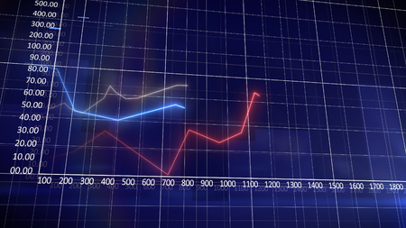provided: Data Information provided by the red curve against a navy blue background.