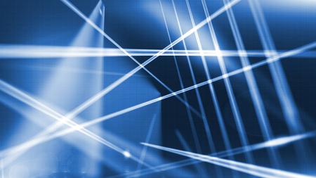 lineas horizontales: brillando líneas verticales y horizontales sobre un fondo azul