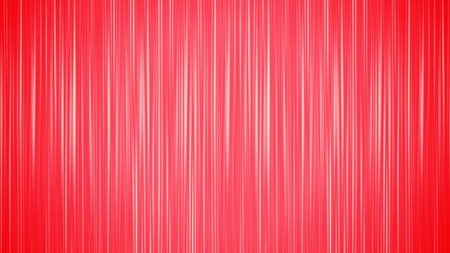 A graphic 3d rendering of vertical white and red beams shining cheerfully in a soft focus option. The sparkling straight are of equal length and width and have a playful character