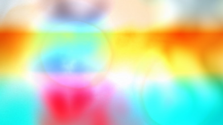 A festive 3d rendering of all rainbow colors in a defocused variant. The smudges of blurred colors interact with each other while playing in a delightful way. Stock Photo