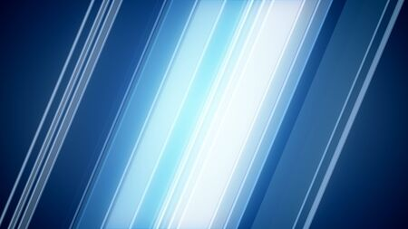 Impressive 3d illustration of Blue Abstract Background with smooth diagonal lines