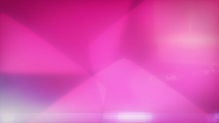 Smooth pink background with soft hexagons. 2d illustration.