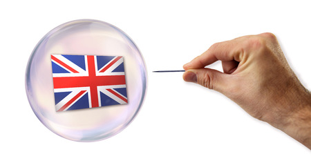 overvalued: The United Kingdom economic bubble about to be exploited