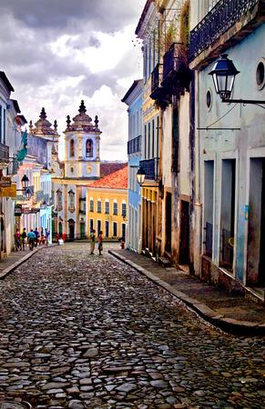 살바도르 데 바이아, 브라질 Pelourinho 에디토리얼