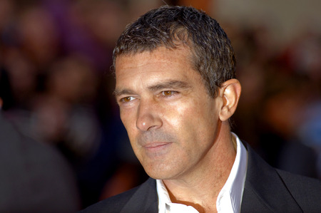 MALAGA, SPAIN - MARCH 15: Antonio Banderas attends the graphic press during the 12th Malaga Film Festival at the Cervantes Theater on March 15, 2009 in Malaga, Spain.