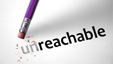 unreachable: Eraser changing the word unreachable for reachable