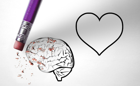 romance strategies: Eraser deleting the reason instead of the feelings