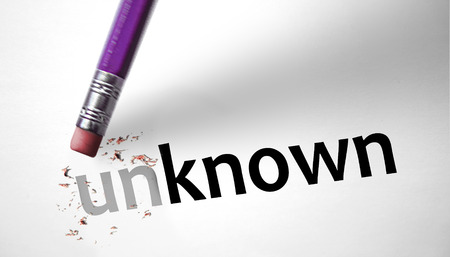 advisement: Eraser changing the word Unknown for Known