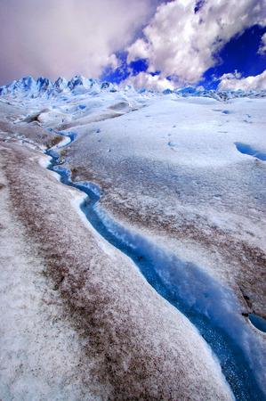 perito: Picture captured in Perito Moreno Glacier in Patagonia (Argentina)