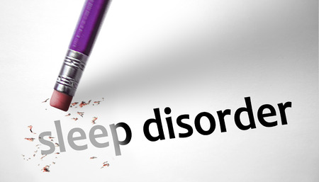 deleting: Eraser deleting the concept Sleep Disorder