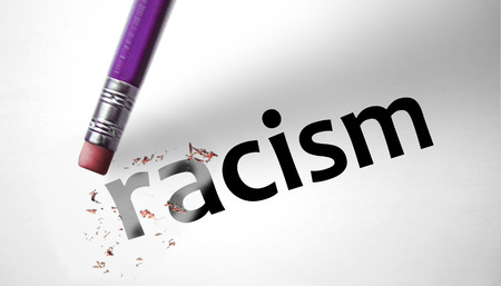 exclude: Eraser deleting the word Racism