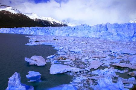 icescape: Picture captured in Perito Moreno Glacier in Patagonia (Argentina) Stock Photo