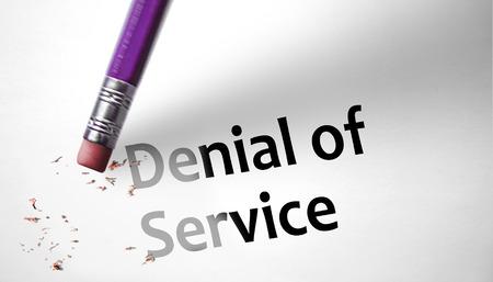 denial: Eraser deleting the concept Denial of Service