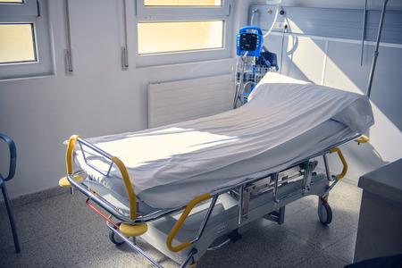 nursing unit: Empty Bed On Hospital Ward