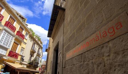 pablo: MALAGA - 15 aprile: Ingresso del Pablo Picasso Museum nella citt� di Malaga il 15 aprile 2009 a Malaga, in Spagna.