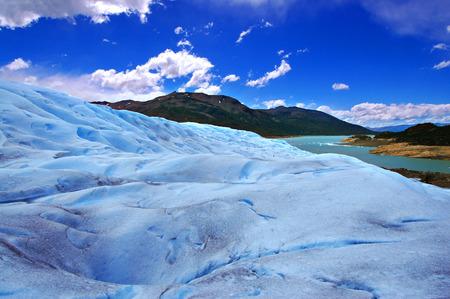 Picture captured in Perito Moreno Glacier in Patagonia (Argentina) photo