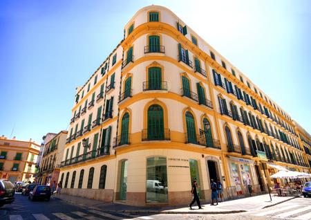 말라가 -5 월 15 일 : The 파블로 피카소 Fundation 발상지 박물관 말라가 도시에서 2009 년 5 월 15 일 스페인 말라가.