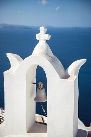 oia: Greece, Santorini island, Oia village, White architecture
