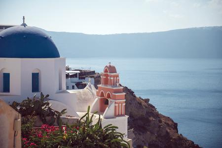 santorini island: Greece, Santorini island, Oia village, White architecture
