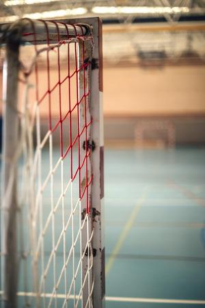 terrain de handball: football ou de handball aire de jeux Banque d'images
