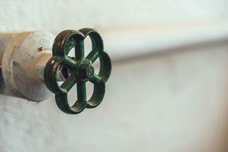 오래 된 물 밸브