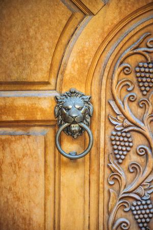 knocker: Lion Head Door Knocker, Ancient Knocker