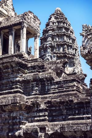 siem: Angkor Wat Temple view, Siem reap, Cambodia