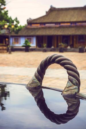 middle east fighting: Citadel, Hue, Vietnam. Unesco World Heritage Site