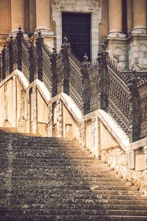 ragusa: Detail view of Ragusa, Sicily, Italy