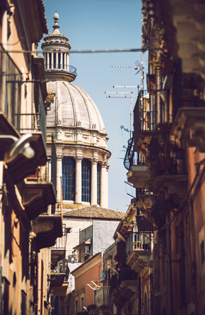 ragusa: View of Ragusa, Sicily, Italy Stock Photo