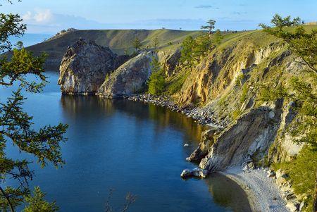 Olkhon island on Baikal Lake photo