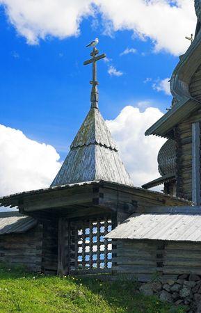 Wooden Architecture in Kizhi, Russia photo