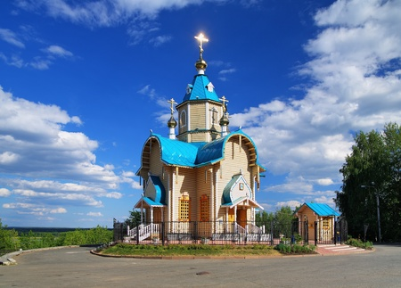 theodor: Wooden Church of Theodor Icon of Mother of God in Kirov, Russia