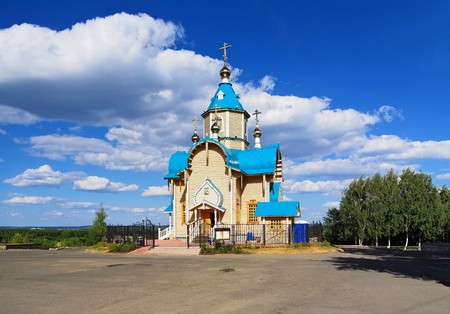 kirov: Wooden Church of Theodor Icon of Mother of God in Kirov, Russia