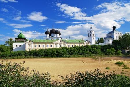 kirov: Uspensky (Assumptiom) Trifonov monastery, Kirov, Russia Stock Photo