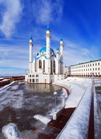 Qolsharif Mosque in Kazan Kremlin, Tatarstan, Russia Stock Photo